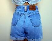 Vintage Denim Shorts // Sonoma // High Waisted (size 4-6)