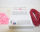 Relay For Life Wish Bracelet - Fundraising DIY pack to make 50 - Ready To Ship