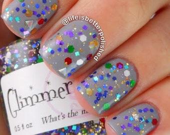 What's The Matter With Misfits Handmade custom nail polish