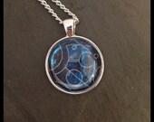 Custom Circular Gallifreyan Pendant - Your Message - Circular Pendant
