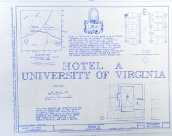 University of Virginia Hotel A Blueprint