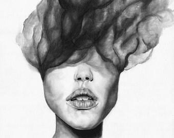 Up in Smoke (Print-reproduction of original)