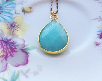 Summer Turquoise - elegant drop