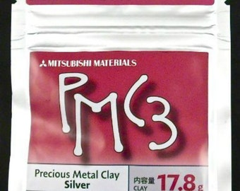 pmc3 silver clay, Precious Metal Clay, 16g, 25g, 50g, Jewelry Making