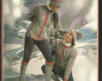 Ski Sweaters Socks and Toques - pattern