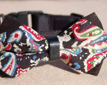 Bow tie dog collar.Cute Bow tie dog collar,wedding dog collar.Birthday party dog collar. Dog Christmas collar, Birthday gift for dog