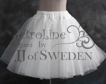 Handmade Petticoat in hard tulle. Create volume for your dress. L / XL / 2XL / 3XL . Plus size Tulle tutu.
