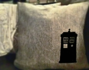 Doctor Who Tardis Pillow Case ON SALE