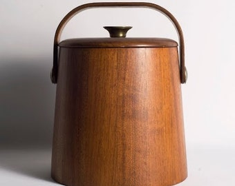 Vintage Wooden Ice Bucket