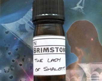 The Lady of Shalott perfume oil - baby's breath, forget-me-not, bluebell, white musk, white rose