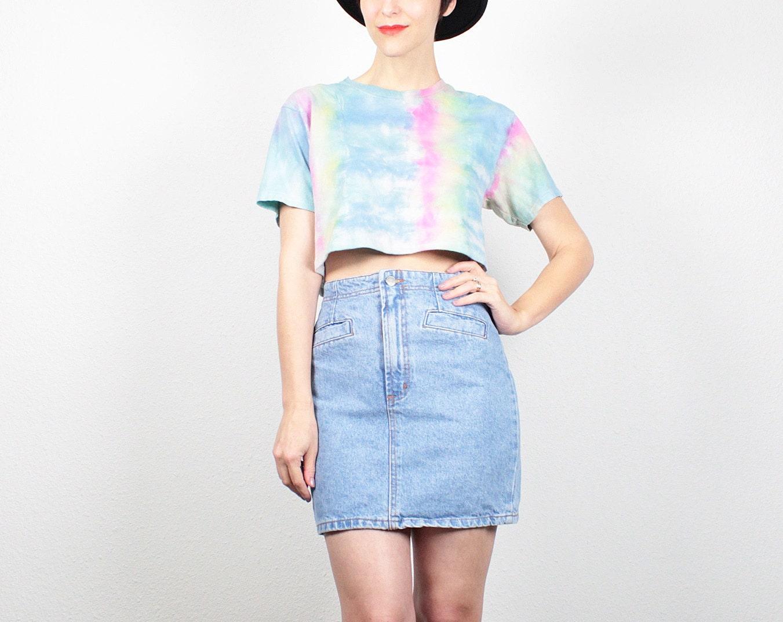 vintage 80s skirt denim mini skirt blue jean skirt 1980s skirt
