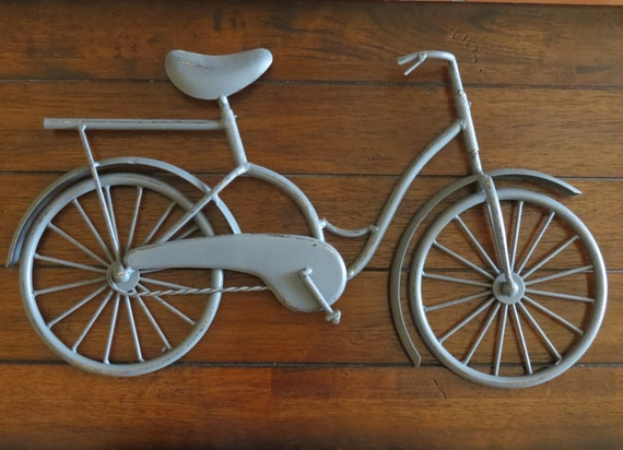 Metal Wall Decor Bicycle : Bike wall decor bicycle metal art unique idea