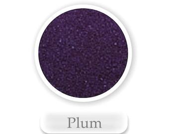 Plum Colored Sand, 1/2 lb. or 1 lb. Bag, Plum Unity Sand, Plum Wedding Sand, David's Plum Sand, Craft Sand
