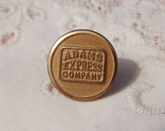Adams Express Company Uniform Button
