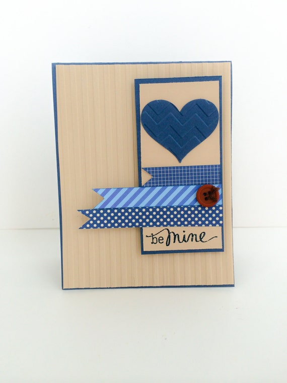 Items similar to Valentine for Men, Masculine Valentine ...
