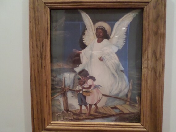African american guardian angel picture frame for American frame coupon code