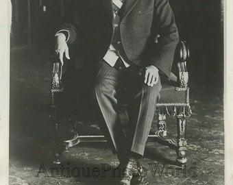 Mexico President Emilio Portes Gil antique photo