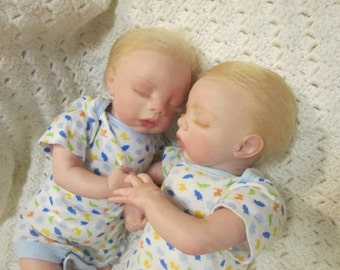 Reborn Twins 2 complete Reborn Dolls, and accessories