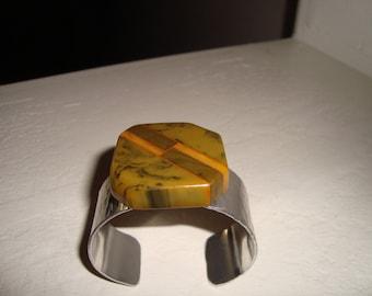 Bakelite cuff bracelet