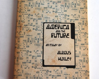 Vintage Book, America and the Future