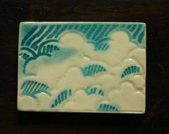 Happy Clouds tile