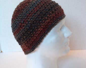 Crochet Beanie, Men/Teens