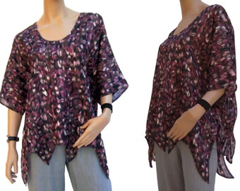 AO700 Zipfel blouse
