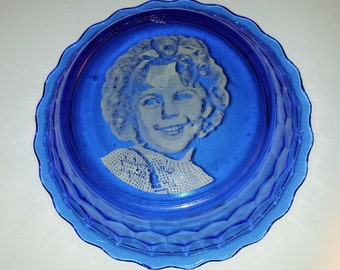 Vintage Shirley Temple Bowl