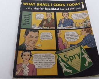 Spry Cookbook 1940's