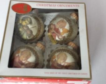 Hummel Christmas Ornaments - Set of 4 Q