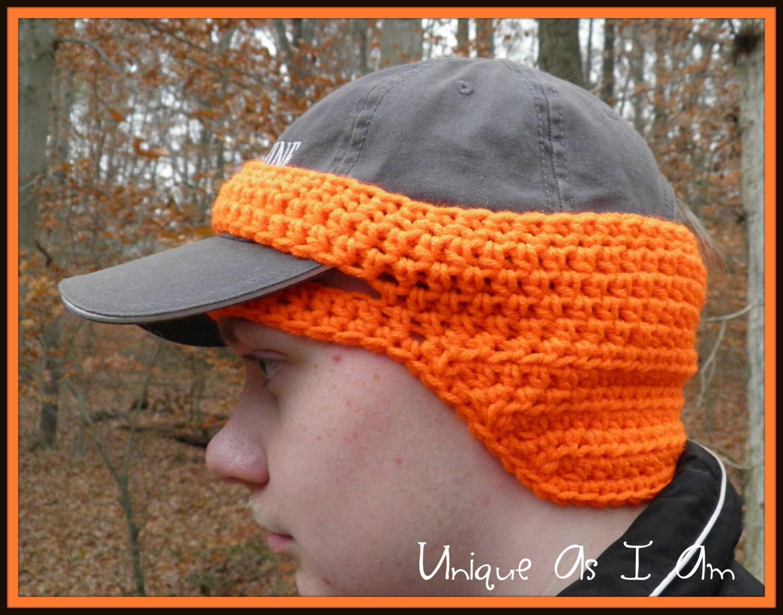 Free Knitting Pattern Ear Warmer Hat : Crochet Adult Thin Cap Ear-Warmer in Any Color