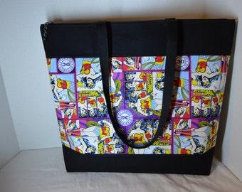 Pink Wonder Woman Tote bag