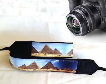Pyramids Camera Strap. Egypt  Camera Strap, Camera Accessories