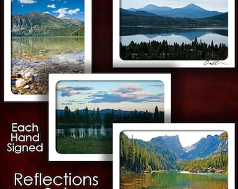 Reflections Greeting Card Set - Hand Signed
