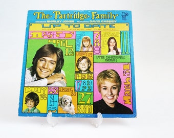 The Partridge Family Up To Date Stereo LP 70s Hippie Mod Record Album