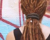 35CM MOSS Dreadlocks Wrap / Wire headband / Dreads Tie / Hand sewn / Dreadlocks Style / Recyclable / 100% cotton / Made to Order