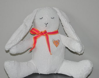 SOLD! Sweet White Bunny