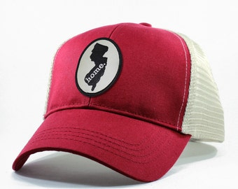 Homeland Tees New Jersey Home Trucker Hat