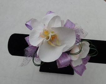 Corsage designed with real touch Phalaenopsis orchid