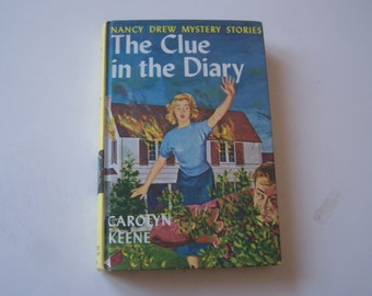 Nancy Drew VINTAGE BOOK    The Clue in the Diary