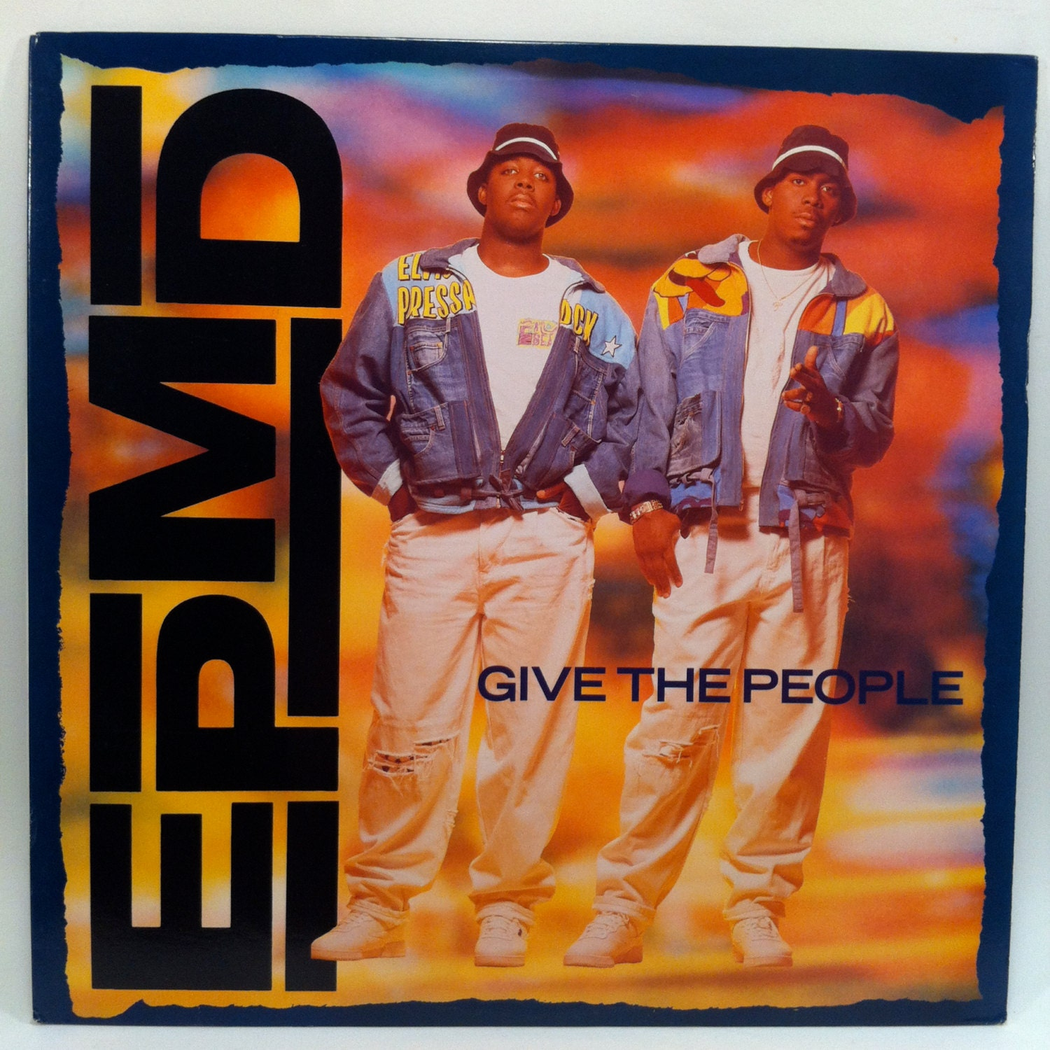 Epmd Give The People 12 Inch Single Vinyl Record 1991 Def Jam