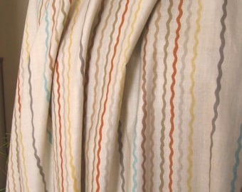 Waverly Party Stripe Cotton Fabric