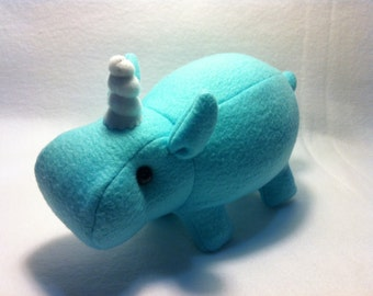 Unicorn Hippo Plush Toy Hippocorn