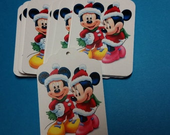 25 Mickey and Minnie Gift Tags.  #LO-59