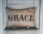 GRACE Decorative Pillow Decor Pillow Simple Pillow