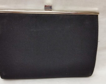 Vintage Liz Clairborne Black Formal Bag, Little Black Evening Bag, Black formal clutch, Black Evening Bag SALE SALE SALE