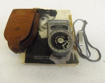 Vintage NON WORKING Sekonic Light Meter For Cameras K13
