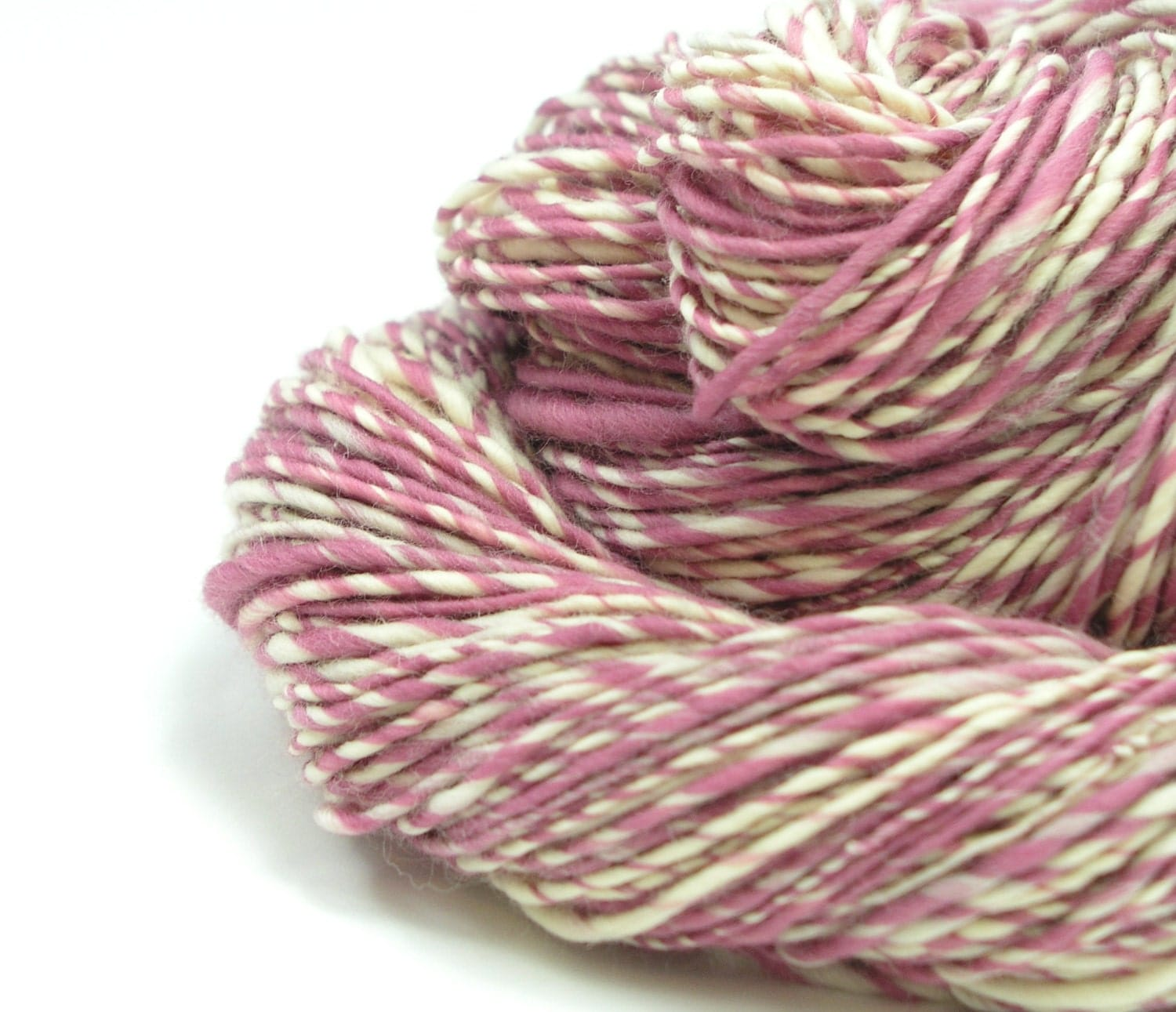 Worsted Weight Yarn : Worsted Weight Yarn Handspun Yarn Merino Yarn by TheSavvyStitch