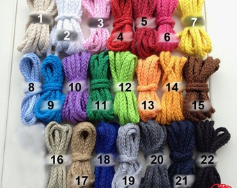 5 Yards - 22 Colors Cotton Rope (ST022CR)