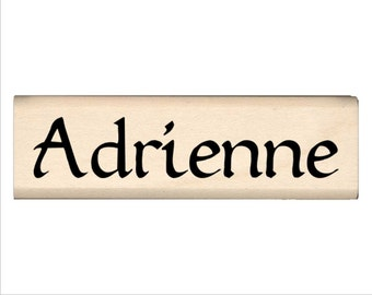 Name Rubber Stamp for Kids  - Adrienne